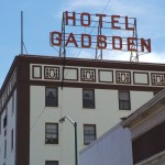 Gadsden Hotel Sign